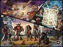 Бесплатная игра Мозаика Пазл Пираты. Сокровища Карибского моря скриншот 2